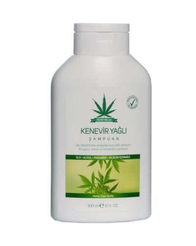 Doğal Kenevir Yağlı Şampuan 300ML